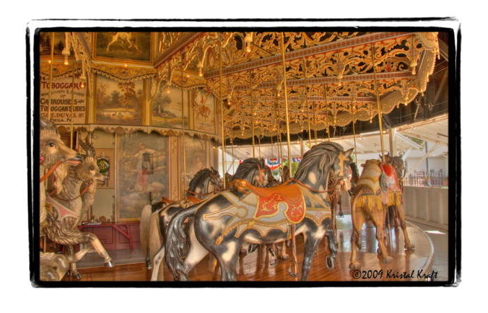 7.) The oldest wooden merry-go-round in the United States resides in Burlington (the Kit Carson County Carousel was built in 1905).