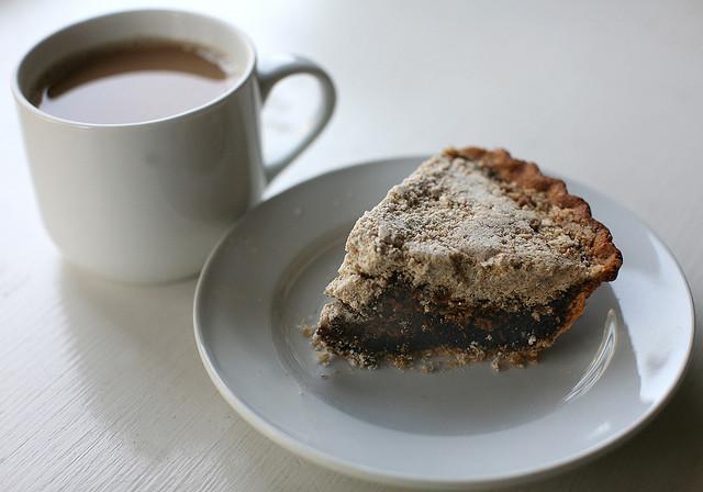 4. Eat Shoo Fly Pie.
