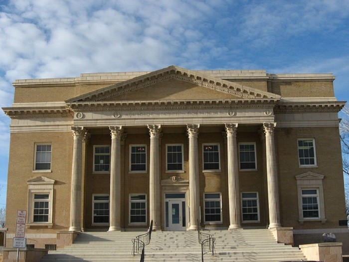 6. The Humboldt County Courthouse in Winnemucca, Nevada.