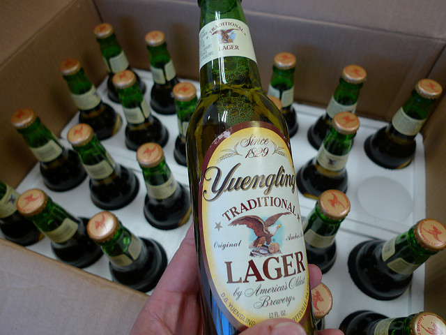 11. Yuengling beer, brewed in Pottsville