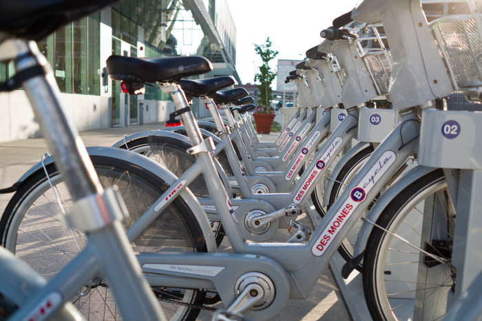 4. Rent a bike and explore the capitol city