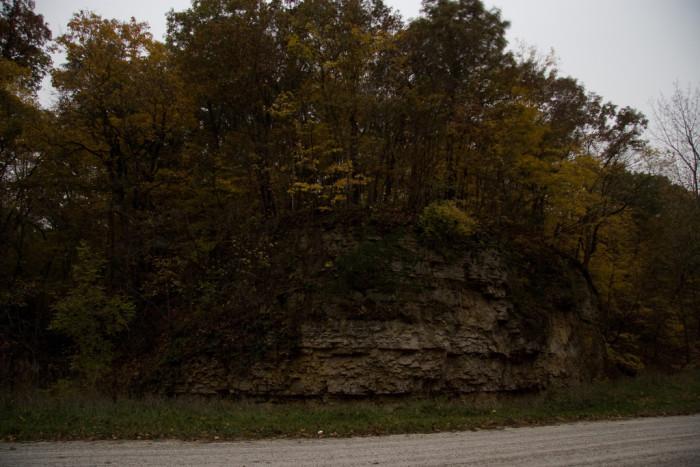 3. Stony Hollow Cliff  in Burlington