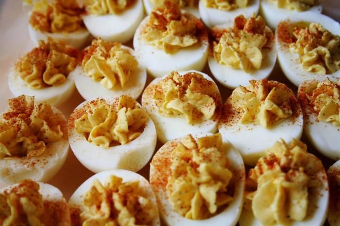 3. Deviled eggs