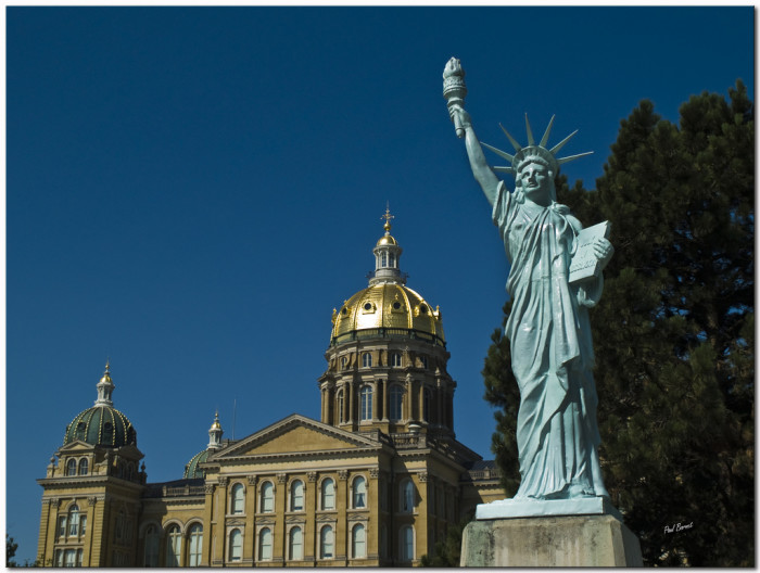 4. Iowa's own Statue of Liberty