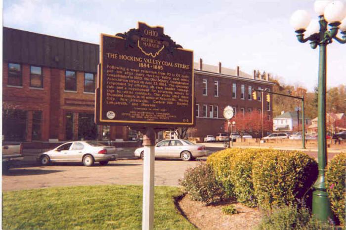 12) Nelsonville Public Square