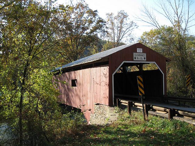 7. Wanich Covered Bridge, Bloomsburg