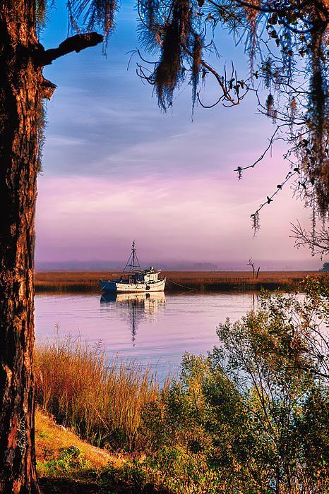 10) Shrimp Boat just outside Savannah