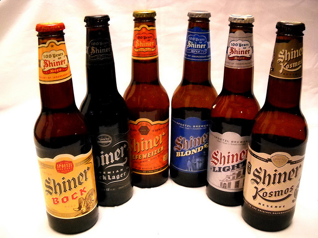 5) Beer..it's our choice of beverage for most meals, except of course for..