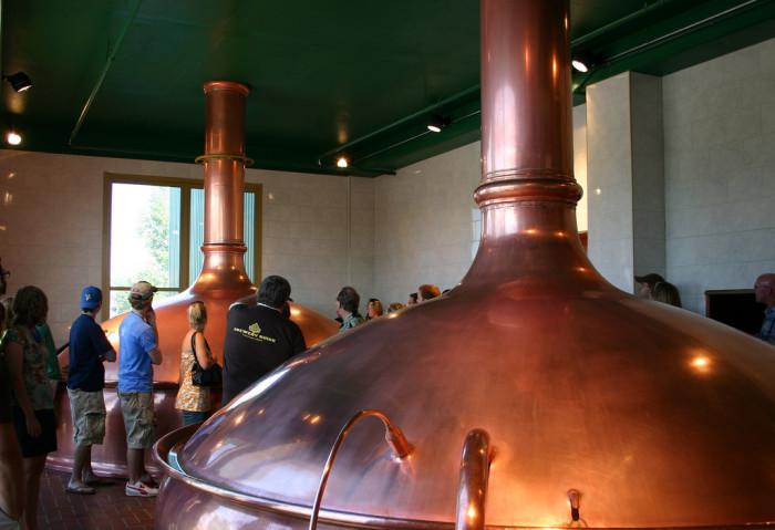 7. Take a free brewery tour!