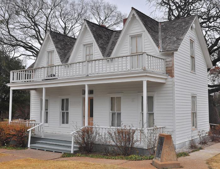 3) Eisenhower Birthplace (Denison)