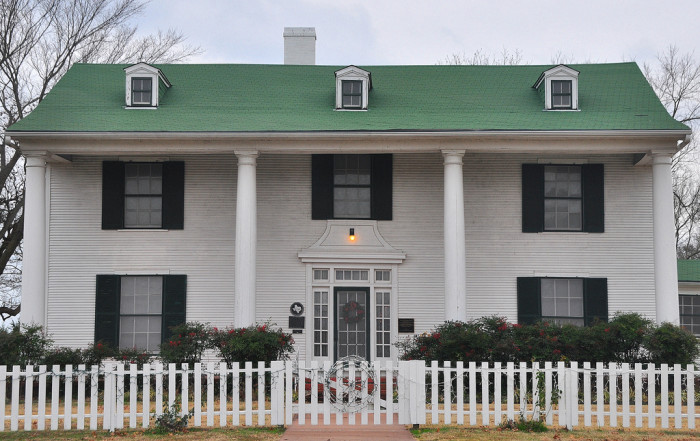 6) Samuel T. Rayburn Home (Bonham)