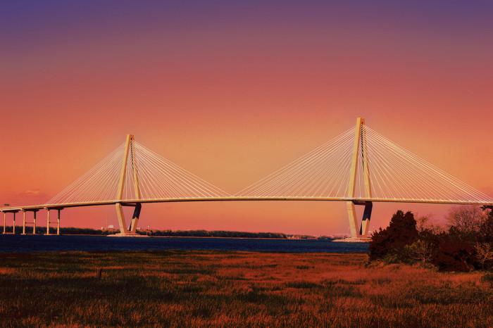 1. Arthur Ravenel Jr. Bridge, Charleston, SC