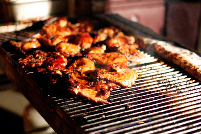 8) Go to a family BBQ
