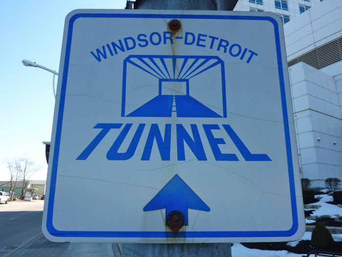 Or a tunnel