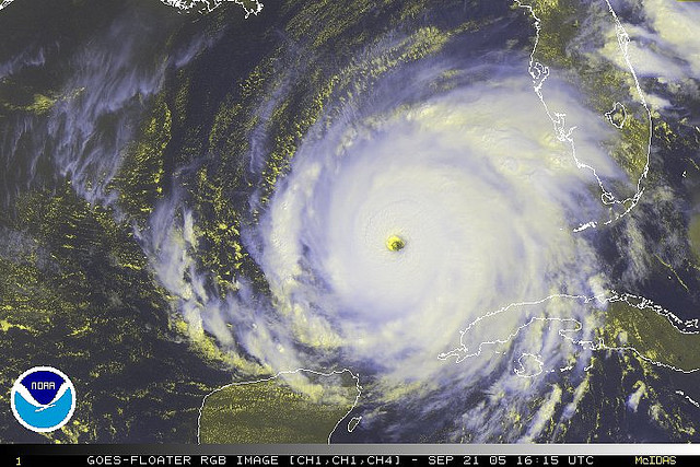 2) Hurricanes..they don't come too often..but when they do, Mother Nature doesn't play around.