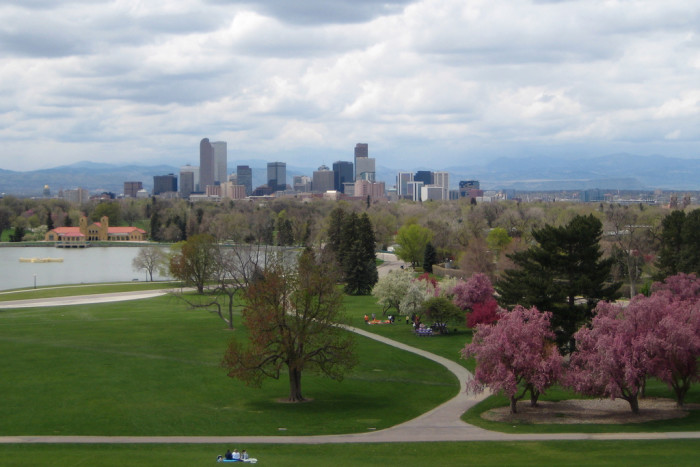 6.) Denver has the largest city park system in the nation with 205 parks within city limits (and 20,000 acres of parks in the nearby mountains).