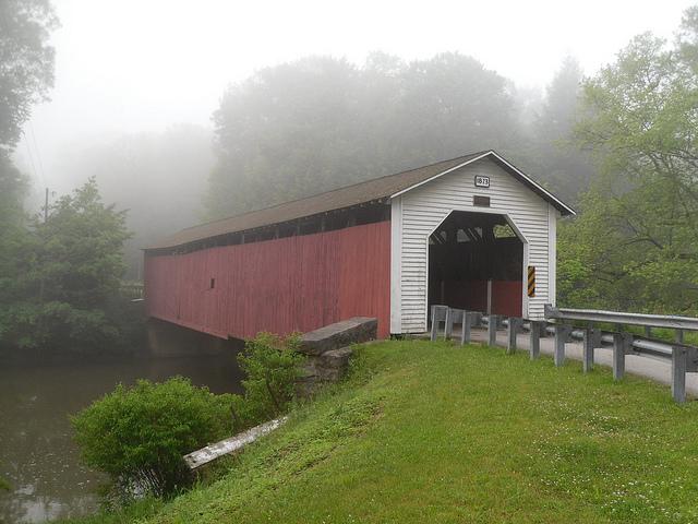 4. McGees Mills Covered Bridge, Mahaffey