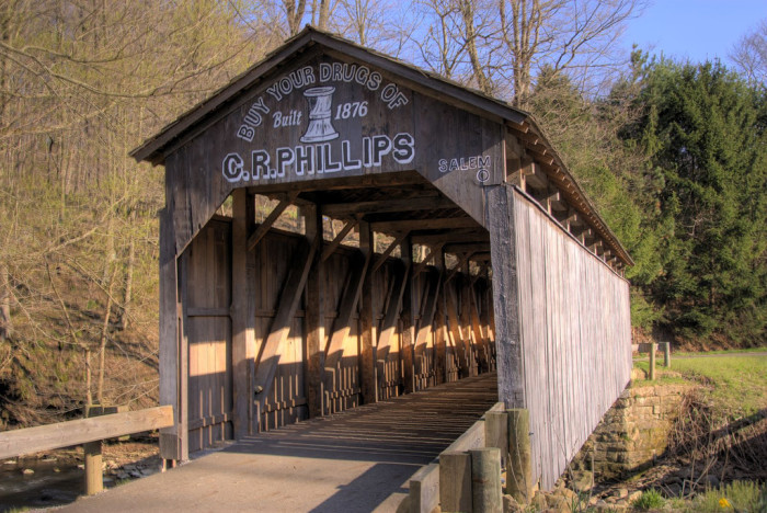 3) Teegarden covered bridge  (Columbiana County)