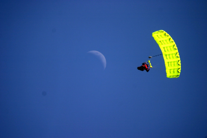 8. Unmarried women are prohibited from parachuting on Sunday under possible punishment of arrest, fine, and/or jailing.