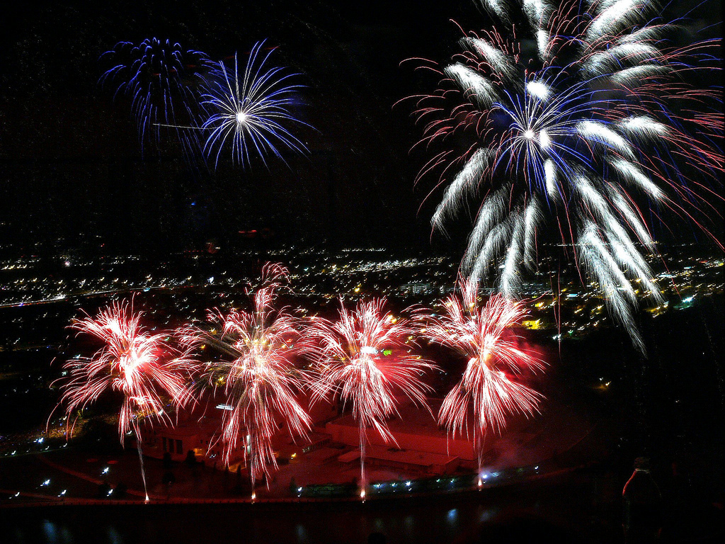 20 Fireworks Shows In Ohio
