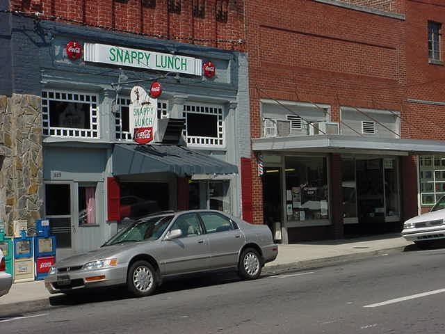 6. Snappy Lunch, Mt. Airy