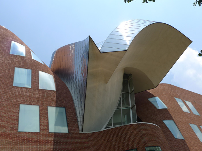 7) The Peter B. Lewis Building at Case Western Reserve University