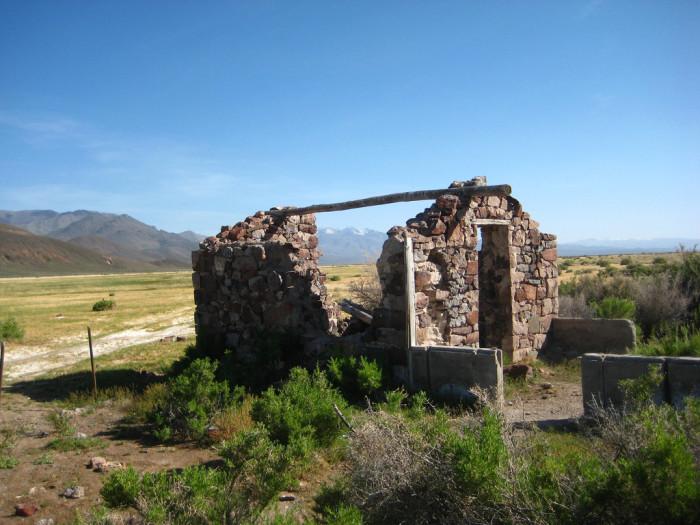 2. An abandoned house near Denio, Nevada.