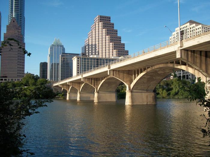 6) Congress Avenue Bridge (Austin)