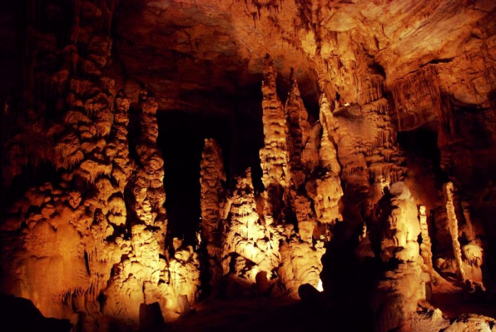 1. Cathedral Caverns