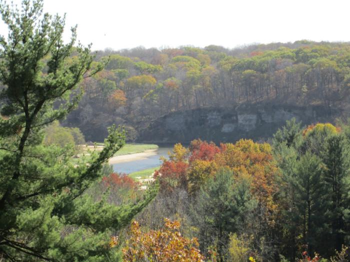 4. Backbone State Park in Delaware County.