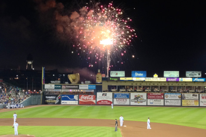 4. Fireworks at Principal Park