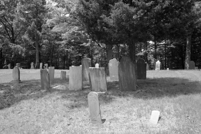 4. Vegors Cemetery in Stratford