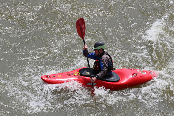 4. Try your hand at white water rafting