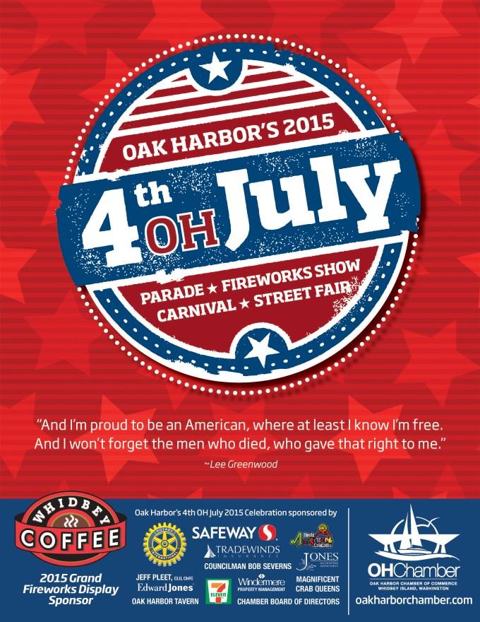 4. Oak Harbor, 4th Oh July