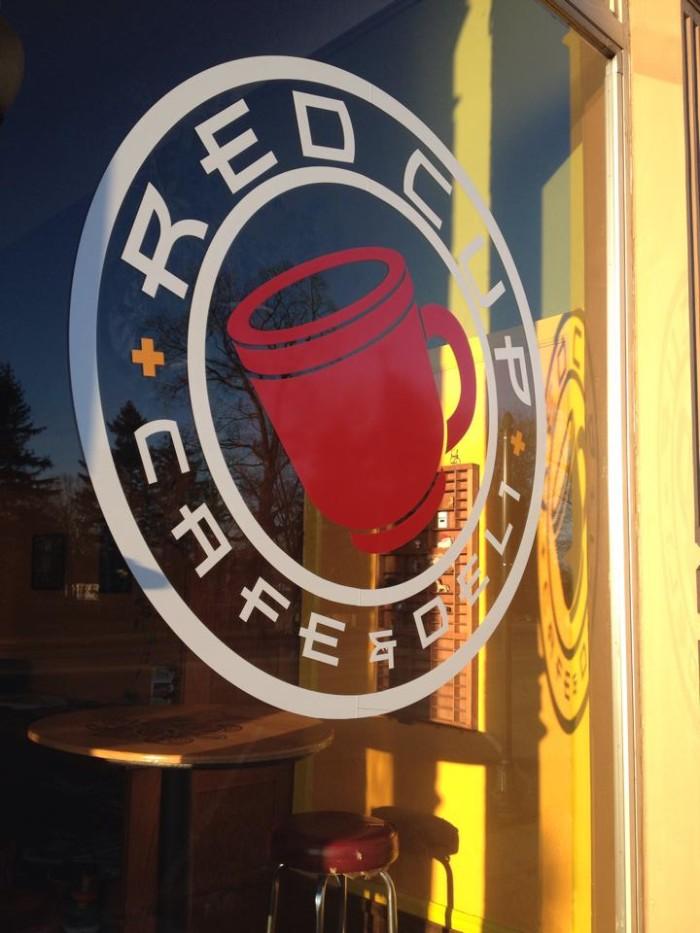 4.) Red Cup Café