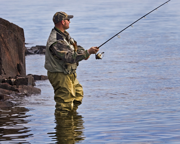 4. Fishing. Usually happens in all those lakes.