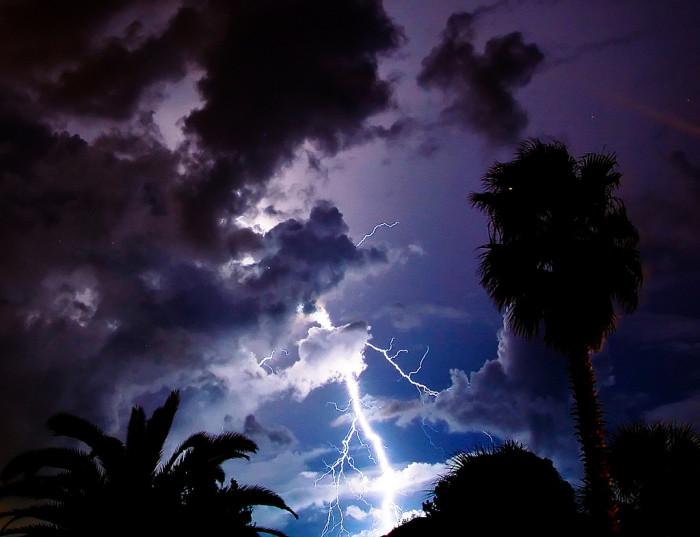 19. Lightning in Ponte Vedra Beach, FL