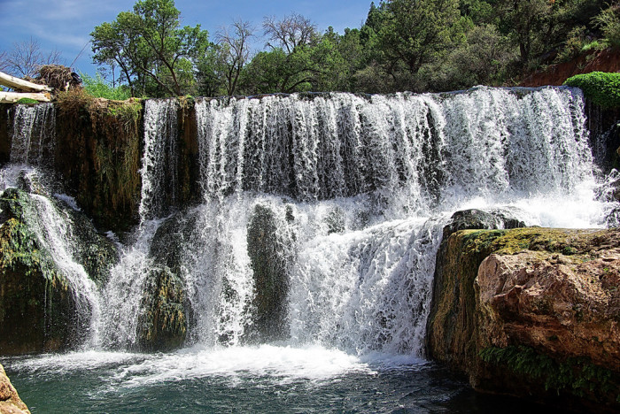 6. Fossil Creek Waterfall