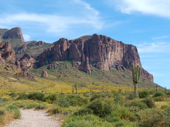 7. Lost Dutchman's Gold Mine, Apache Junction