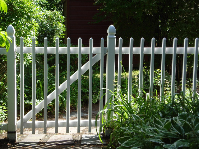 1. A fence for your garden