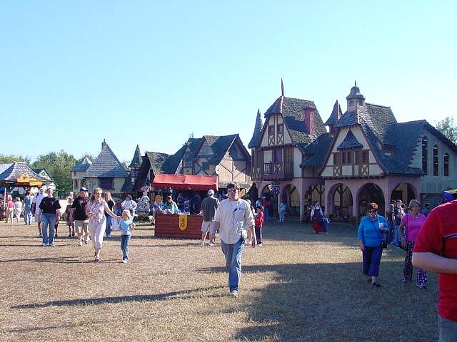4. Carolina Renaissance Festival, weekends, Oct.-Dec