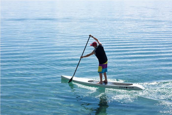 2) Paddleboarding!