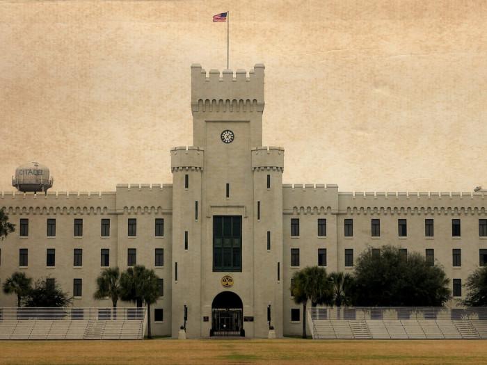 9. The Citadel, Charleston