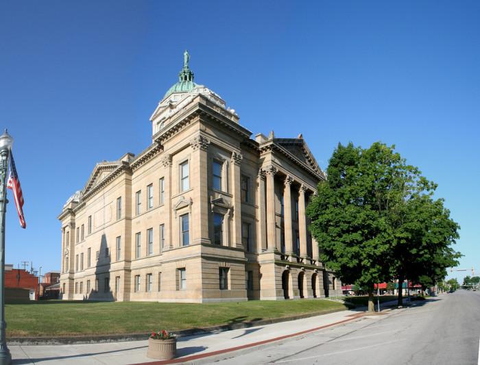 15) Wyandot County Courthouse (Upper Sandusky)