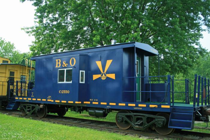 5) Hocking Valley Scenic Railroad