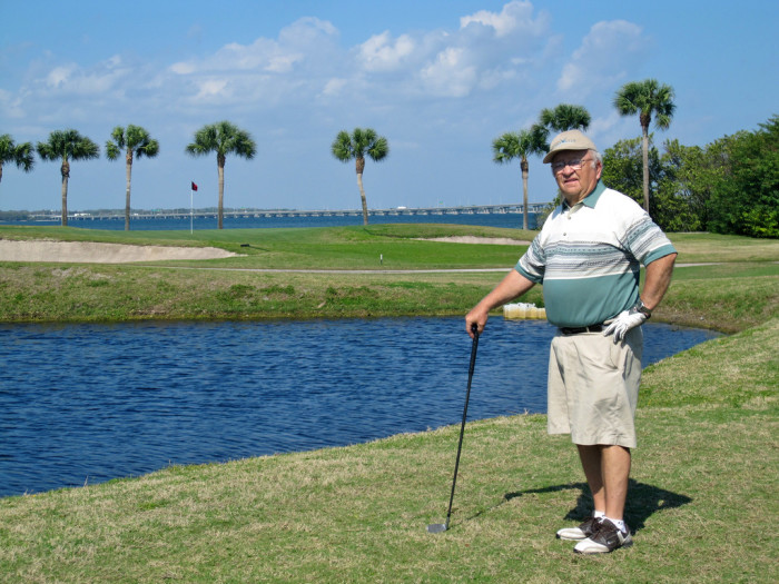 7. Treat dad to a day of golf.