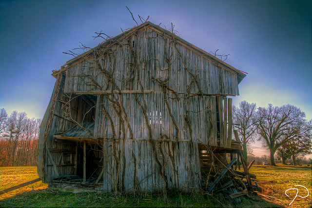 "9. ""McLeansville Barn"" by Jim Dollar"