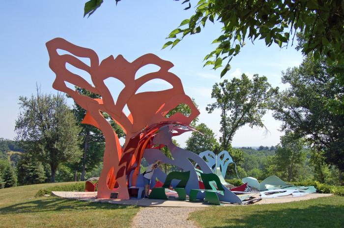 10) Pyramid Hill Sculpture Park (Hamilton)