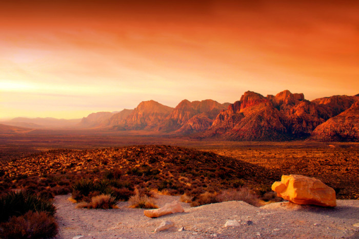 7. Red Rock Canyon in Las Vegas, Nevada
