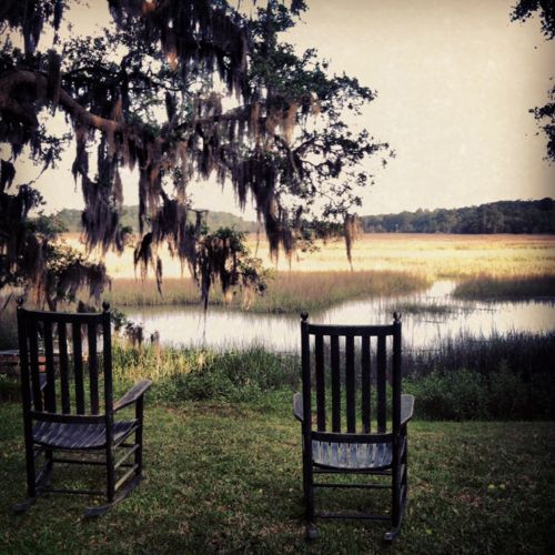 8) Sit and rock among the marshes.